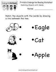 Worksheets Com Free Printable Letter Worksheets Kindergarteners Reading