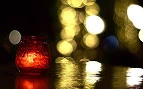 mood candle bokeh background light bank jar wallpaper