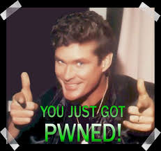 David Hasselhoff Meme - david hasselhoff meme pwned ownage noob newbie funny double thumbs