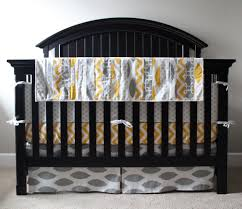 Yellow And Gray Crib Bedding by Crib Bedding With Yellow Creative Ideas Of Baby Cribs