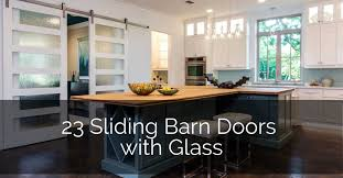 barn door for kitchen cabinets 23 sliding barn doors with glass sebring design build