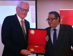 chambre de commerce espagnole en la chambre de commerce espagnole a récompensé la reconnaissance des