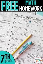 free math homework for 6th grade this 6th grade math homework is