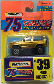 matchbox chevy silverado ss ford bronco ii matchbox pinterest ford bronco ii and