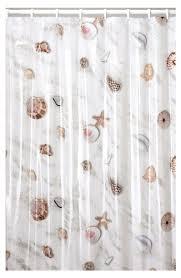 Seashell Shower Curtains Seashell Shower Curtain For The Home Pinterest Seashell