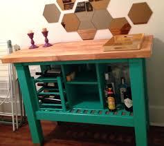 turquoise kitchen island kitchen island with wine rack u2013 excavatingsolutions net