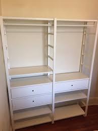 like new ikea elvarli closet system for sale in washington dc