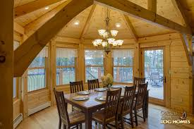 octagon homes golden eagle log and timber homes log home cabin pictures