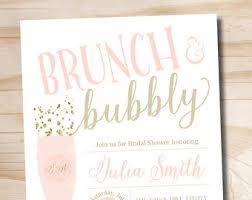 brunch bridal shower invitations brunch bubbly bridal shower invitation with flowers fall