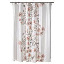 Shower Curtain See Through Blooms Flat Weave Shower Curtain 72