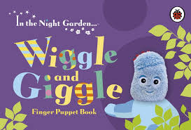 night garden wiggle giggle finger puppet book