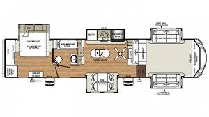 forest river sierra 377flik 5th wheel floor plan