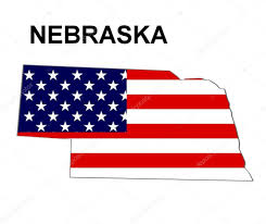 Nebraska State Map by Usa State Map Nebraska U2014 Stock Photo Pdesign 1768790