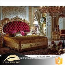 art467 royal bedroom furniture king queen size wedding bed wooden