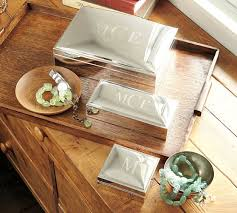 engravable box engravable silver plated jewelry boxes pottery barn