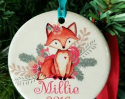 First Christmas Personalized Ornaments - deer ornament etsy