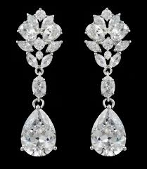silver dangle earrings for prom 484 best dazzling earrings for your wedding and prom images on