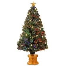 buy gold decorated trees from bed bath beyond