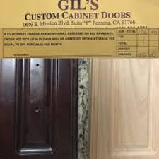 custom cabinet doors san jose gil s custom cabinet doors 79 photos cabinetry 1649 e mission