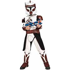 star wars costumes star wars clone wars deluxe commander fox child halloween costume