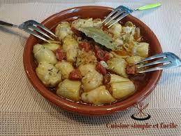cuisiner des artichauts artichauts marinés au chorizo cuisine simple et facile