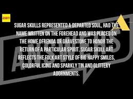 what is the meaning of a sugar skull