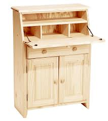 Secretary Desks For Small Spaces by Unfinished Secretary Desk Desk Storage Secretarydesk