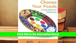 audiobook choose your foods food lists for diabetes american