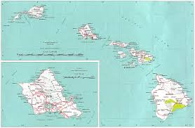 map of hawaii cities map usa including hawaii major tourist attractions maps