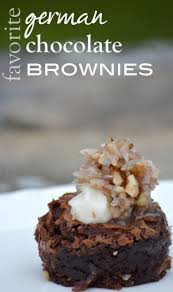 1000 ideas about german chocolate brownies on pinterest german