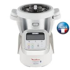 moulinex cuisine companion pas cher moulinex hf900110 cuiseur connecté icompanion blanc