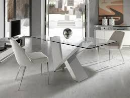 Glass And Chrome Dining Table Contemporary Trendy Glass Table Angel Cerda Contemporary Glass