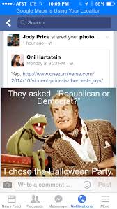 Republican Halloween Meme - oni hartstein blog archive more press and an update from the