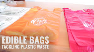 edible photos edible plastic bags that vanish within 180 days