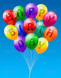 birthday balloons happy birthday balloons by peterhermesfurian graphicriver