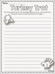 free turkey trot writing prompt sssteaching