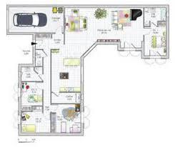 plan maison contemporaine plain pied 3 chambres plan maison plain pied 3 chambres 1 bureau 14 constructeur