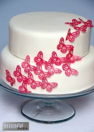 butterfly cake simple pink butterfly cake