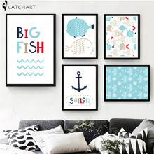 Hanging Prints Compare Prices On Hanging Fish Art Online Shopping Buy Low Price