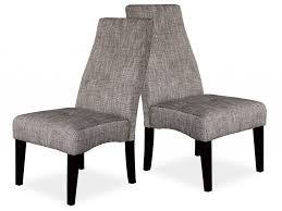 Black Wood Dining Chair Furniture Beautiful Grey Fabric Dining Chairs Grey Material