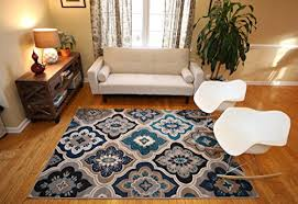 Contemporary Modern Area Rugs Generations New Contemporary Panal And Diamonds Beige Navy Coral