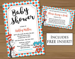 dr seuss baby shower invitations baby shower invitation dr seuss baby shower invitations etsy