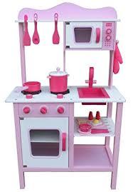kinderk che holz rosa kinderküche spielküche pink rosa aus holz mit zubehör de