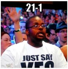 Wrestlemania Meme - the best crowd reactions to the undertaker s defeat at wrestlemania 30