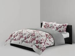 Amazon Com Furniture Set Covers - amazon com n natori cherry blossom mini duvet set full queen