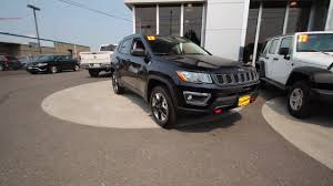 2017 jeep compass trailhawk diamond black ht689072 mt vernon
