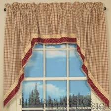 Swag Curtains For Living Room by Country Swag Curtains Country Style Curtains
