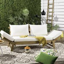Safavieh Home Furnishing Pat6745b Outdoor Outdoor Home Furnishings Outdoor Sofas
