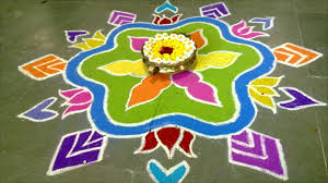 rangoli decoration news your pictures celebration