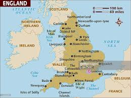 Maps Of England by Map Of England Stock Illustration Getty Images